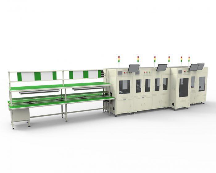 Automatic test production line
